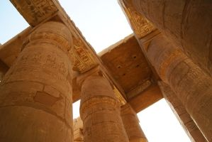 Temple of Karnak by sarahakl