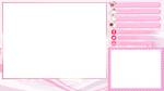 SW Overlay - White Text with Pink Shadows/Glow by mine22mine