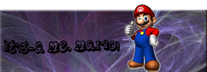 Mario Signature by nepo11