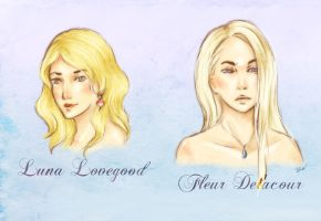 HP - Blondes Comparison by artisteri