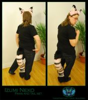 Izumi Tail and Ears by Wolfbird