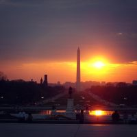 D.C. Sunset by Tracys-Place