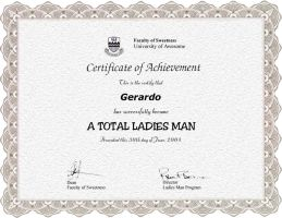 Official Ladies Man by samta