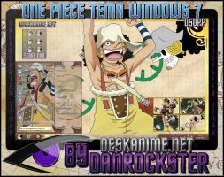 Usopp Theme Windows 7 by Danrockster
