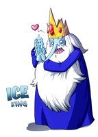 Ice King by RainDante