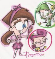 timmy turner turns into a naked girl