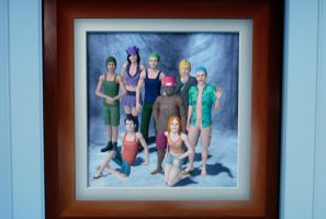 Sims 3 - One Piece version by AnkoGos