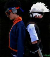 Kakashi Obito by CatchingKeys