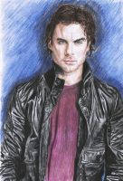 Damon Salvatore by RoxyLexi