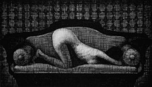 Nude on a Sofa by AAlexandrin
