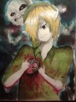 Ben Drowned's heart by bluemoon116