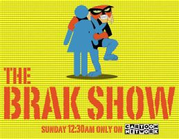 Brak Show Poster by stratasamurai