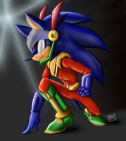 Zonic (Colored) by ShadowReaper12