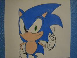 Sonic is Number One Ver 3 by DarkGamer2011