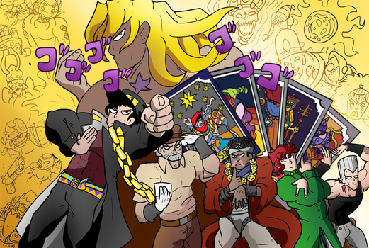 3 Stardust Crusaders by ChrisTheBlue