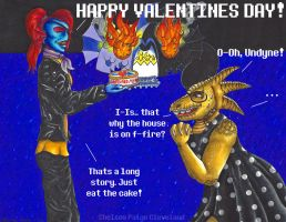 HAPPY VALENTINES DAY - Undertale - Part 2 by Chelsea-C
