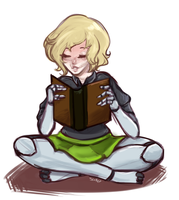 Quickie - Do Robots Read? by MissWires