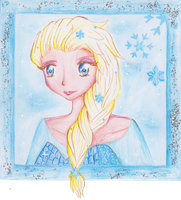 Queen Elsa by MimiStars