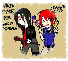 MCR through time by YellKyoru