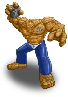 Fantastic Four The Thing by JayWestcott