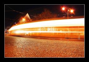 tramway in Bratislava by MikeleSVK