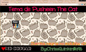 Tema de Pusheen The Cat by ChrissQuintanilla