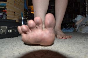Horror Girl: Dirty Foot Stomp 02 by MyEgoTripped