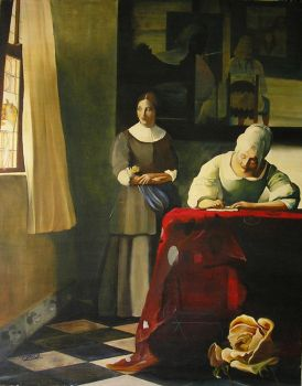 Dali Vermeer by DonisCatala
