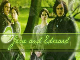 Jane Eyre and Edward Rochester by LisaB1991