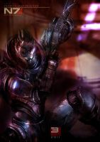 Garrus by vgxVideoGamezX5T5T5