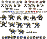 Heavy Man Sprites and Hats by AgentMidnight