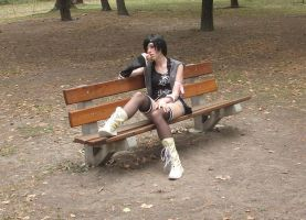Yuffie cosplay shoot 7 by LouSan