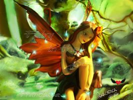 fairy in the woods by NicknameFrancyBrt
