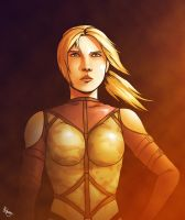 The Vengeful Nina Williams by biscuit-the-great