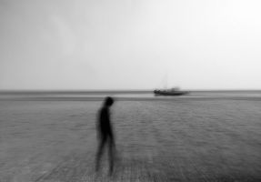 seaside rendezvous - kampos.1 (bw) by geissa