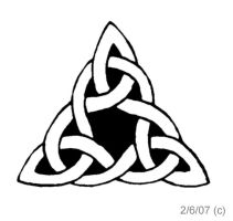 Celtic tattoo design by cyberduality