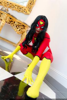 Spider woman Cosplay by Kythana