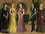 Women of Dorne by TLKFANKING