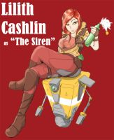 Borderlands-Lilith Cashlin by rooki1