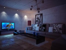 Envy Vray Interiors Night by vince-ma