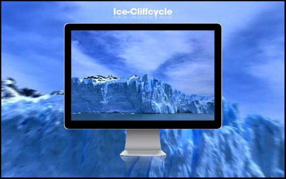 Ice-Cliffcycle by oiien