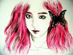 f(x)-Krystal-pink and black-idontlikeit by AliceRossi