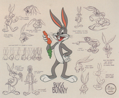 Bugs Bunny Model Sheet Pt. 3 by guibor