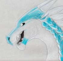 pastel dragon by twood5