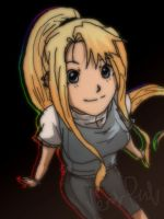 Here comes Winry by Nishi06