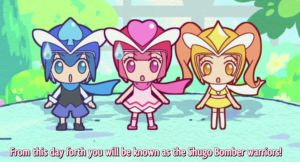 The Shugo Bomber Warriors by crazy-love2draw