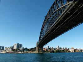Sydney Harbour Bridge II by Aztil