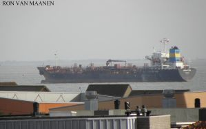 Singapore oil/chemical tanker Ebony Ray 2008- by roodbaard1958