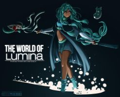Shani - The World of Lumina by RafusChan