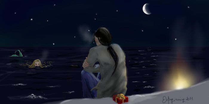 Would you spend Xmas eve with me? by DeBeginning
